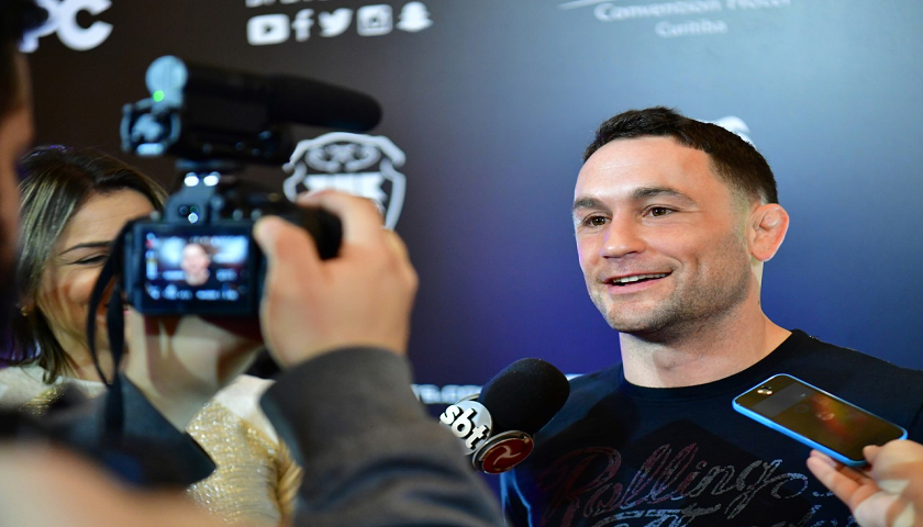 Frankie Edgar returns to Brave Combat Federation in Brazil as Official Commentator