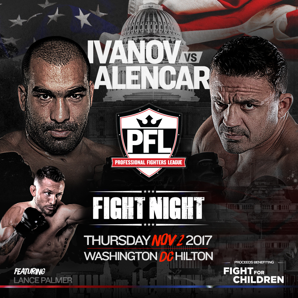PFL and Fight Night team up for charity - Fight For Children