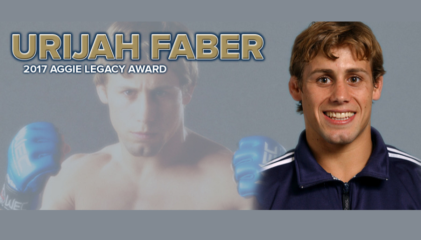 Urijah Faber named as sixth Aggie Legacy Award winner