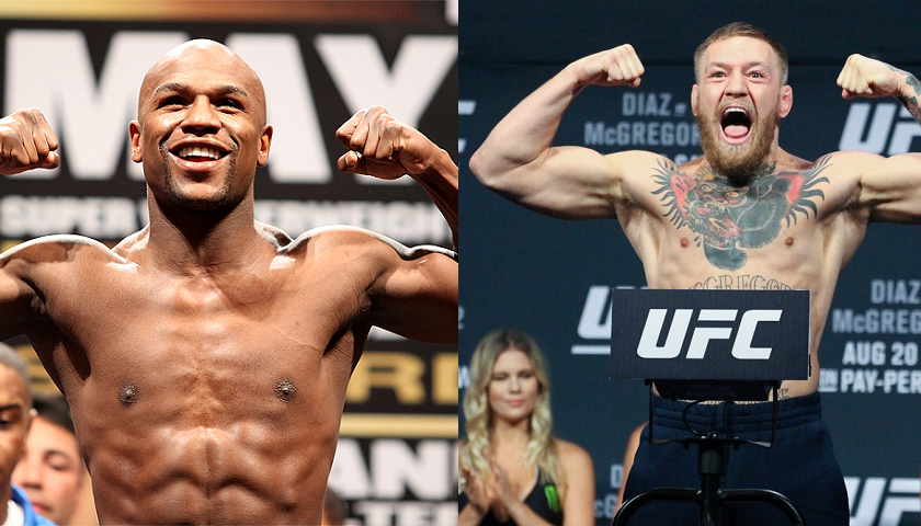 FREE tickets to Friday's Mayweather vs McGregor weigh-ins in Las Vegas