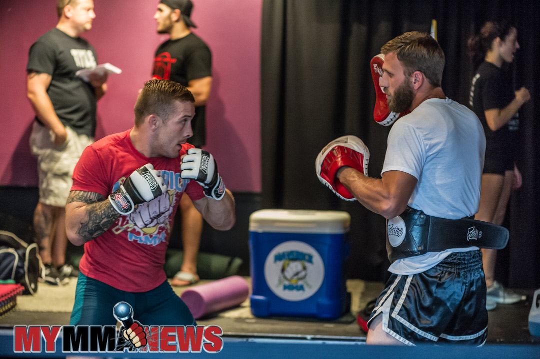 Scott Heckman - Maverick MMA 3 open workouts