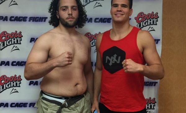 Jon Romero and Mickey Gall