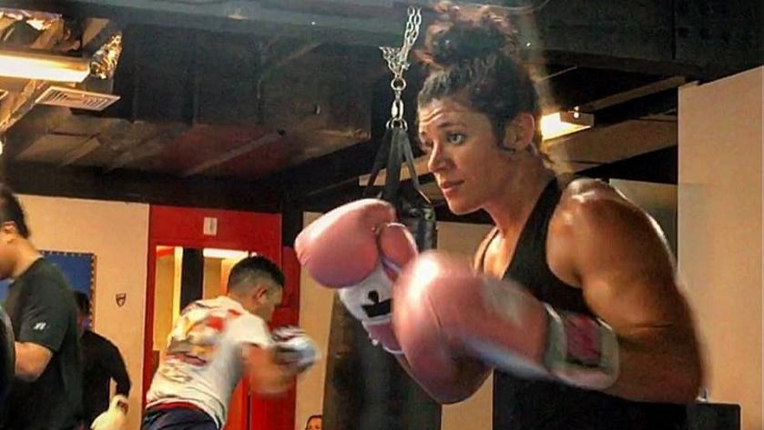 """The Pink Ranger"" Bryanna Fissori makes boxing debut, Saturday"