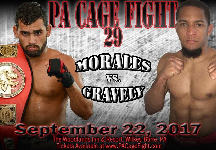 Tony Gravely vs Jordan Morales, PA Cage Fight