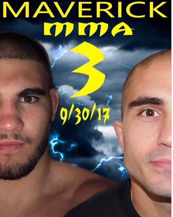 Maverick MMA 3, Michael DeLouisa