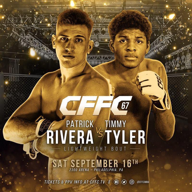 Timmy Tyler vs Patrick Rivera, CFFC 67