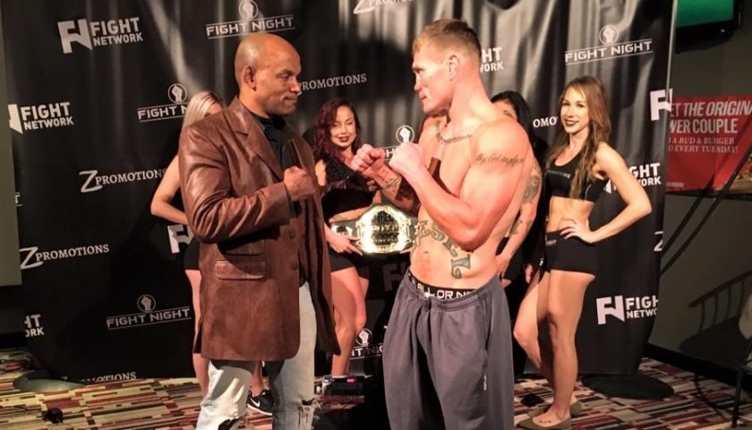 Joe Riggs vs Shonie Carter tomorrow, more than 150 pro fights combined