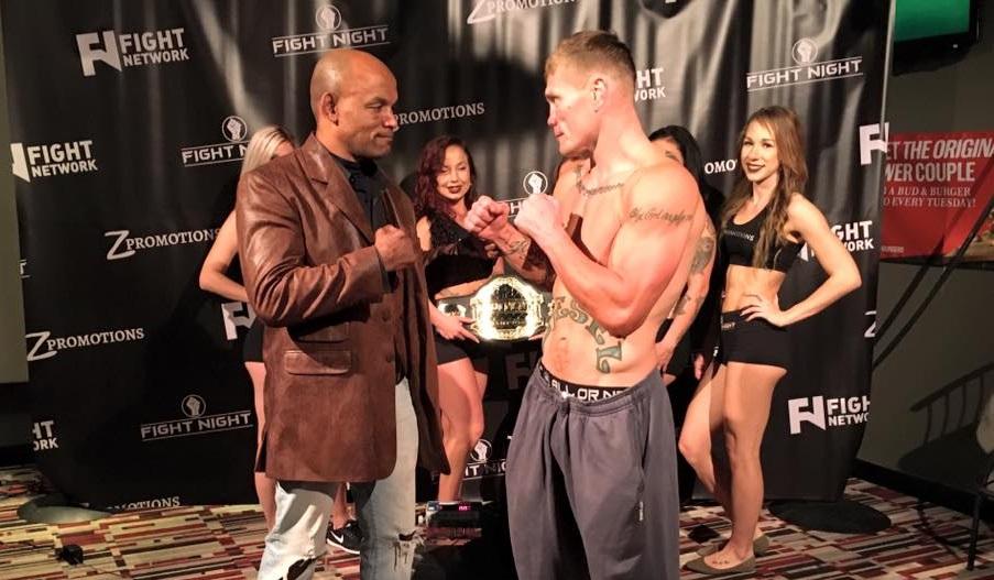 Joe Riggs vs. Shonie Carter tomorrow, more than 150 pro fight combined