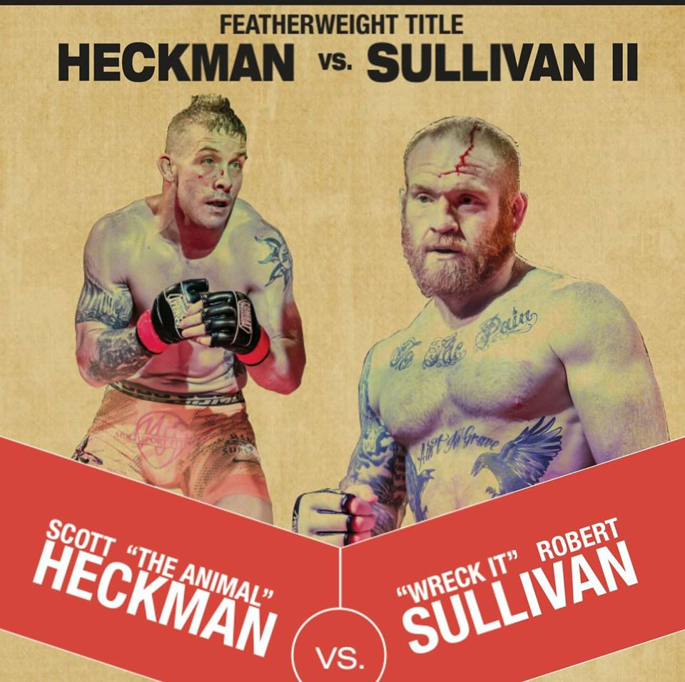 Scott Heckman, Rob Sullivan, Maverick MMA 3