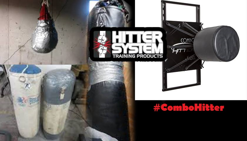 Out with the old, in with the new - Lose your heavy bag, win a Combo Hitter