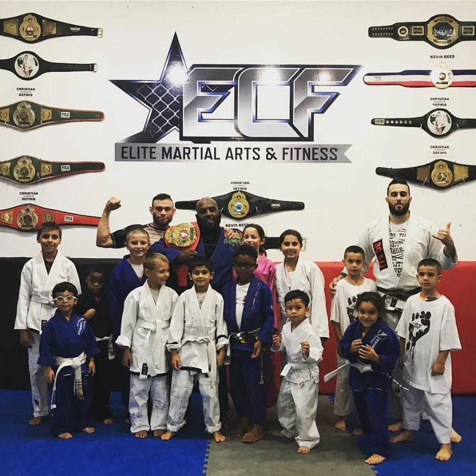 Christian Defiris has Elite Combat Fitness (ECF) on the rise