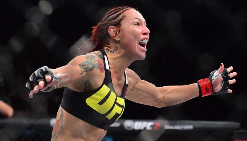 UFC women's featherweight champ Cris Cyborg issued boxing license in California