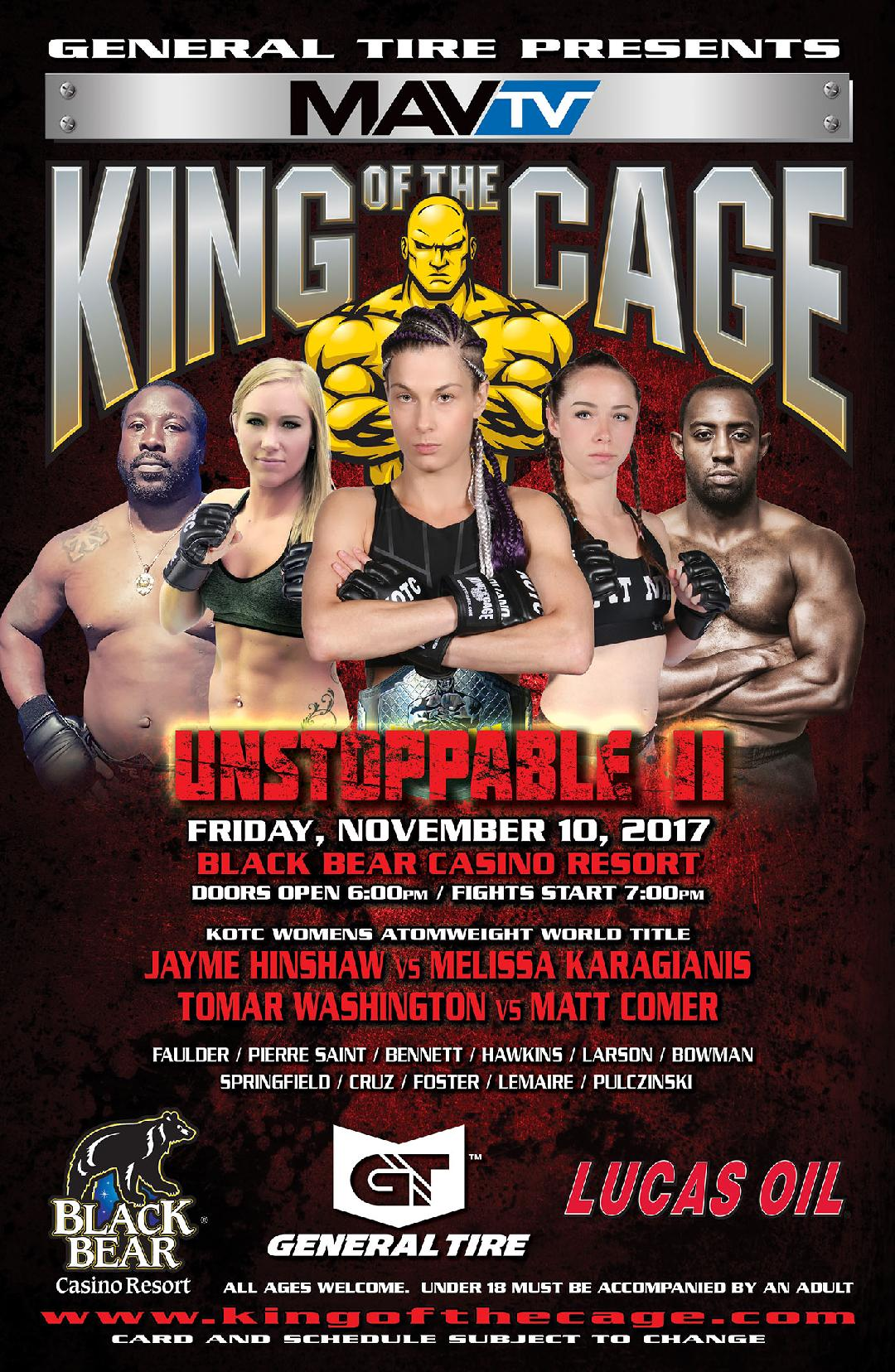 Melissa Karagianis defends KOTC atomweight title at UNSTOPPABLE II
