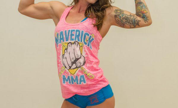 Dakota Ferrone, ringcard girl, Maverick MMA