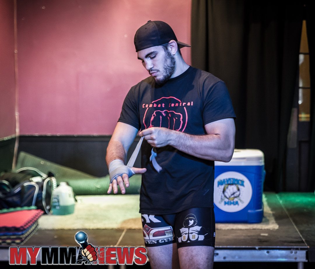 Mike DeLouisa - Maverick MMA 3 open workout