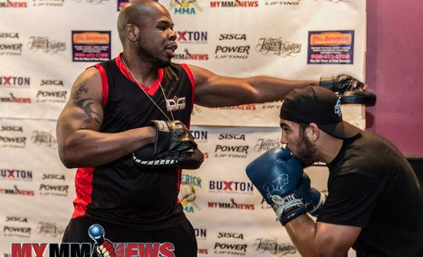 Mike DeLouisa - Maverick MMA 3 open workout