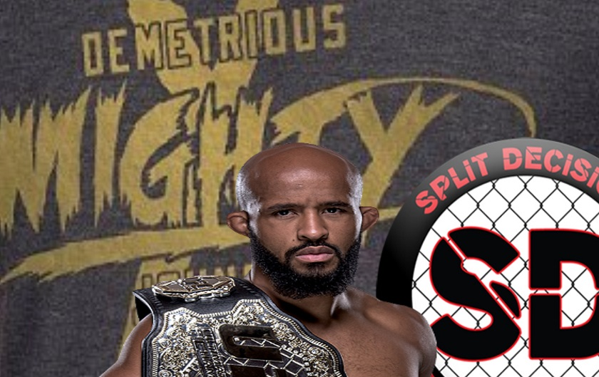 "Demetrious Johnson explains drop of ""Mouse"" from nickname"