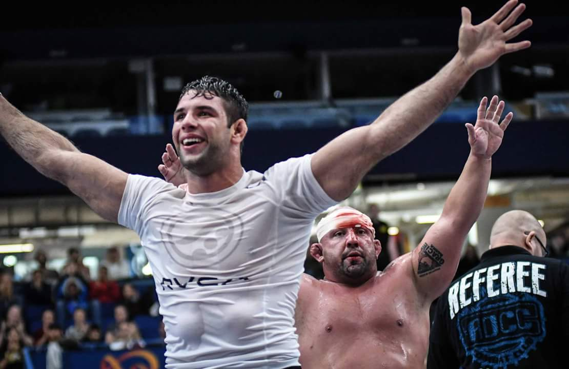 Buchecha and Olando Sanchez put on a show in the finals.