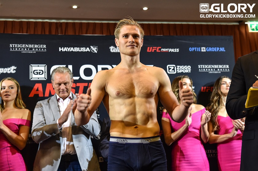 GLORY 45 and GLORY 45 SuperFight Series Weigh-in Results from Amsterdam