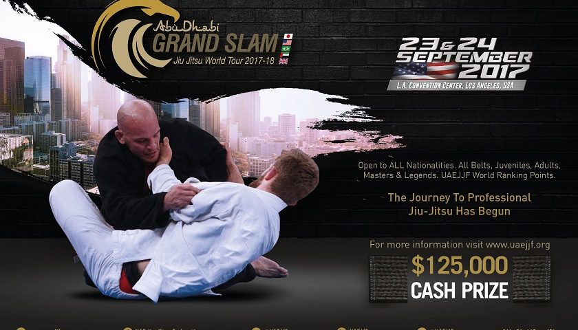 Abu Dhabi Grand Slam Los Angeles Fight Week Begins