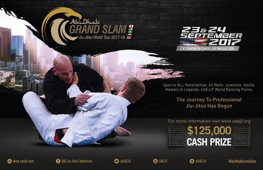 Abu Dhabi Grand Slam Los Angeles Fight Week Begins