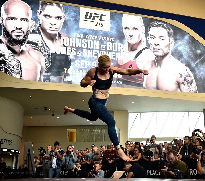 UFC 215: Open Workouts, Valentina Shevchenko