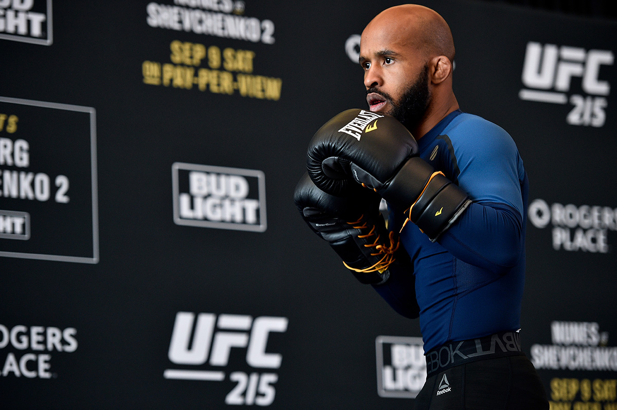UFC 215: Open Workouts - Demetrious Johnson