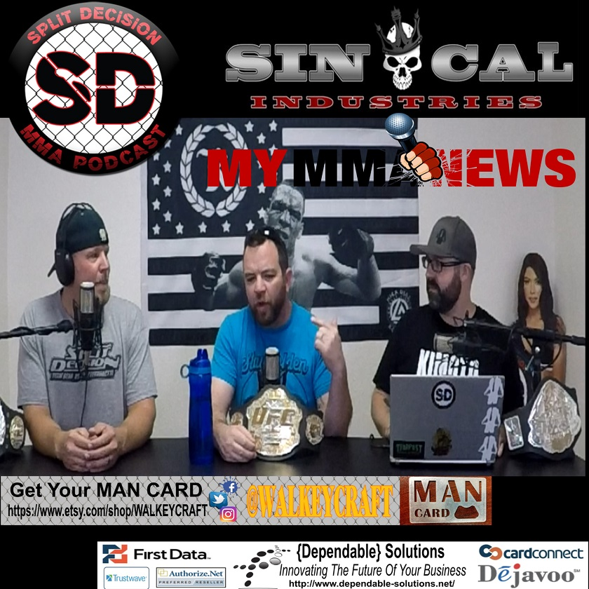 Split Decision MMA Podcast - DJ vs Borg back on, Gil's leg doing well, more