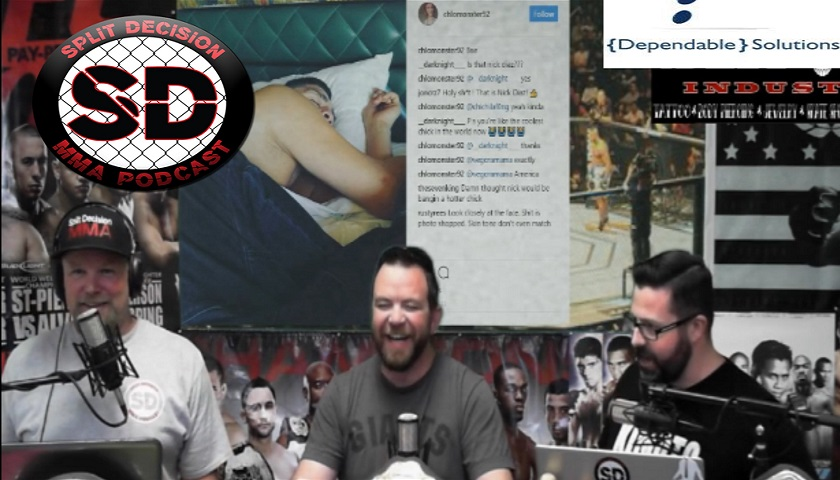 Split Decision MMA Podcast - Nick Diaz married? PVZ sick or no?