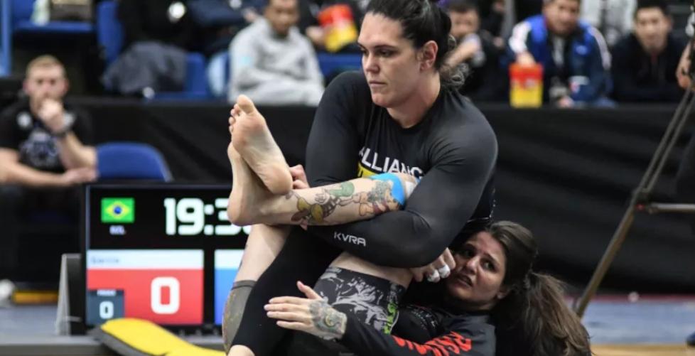 Gabi Garcia making her finals victory look easy.