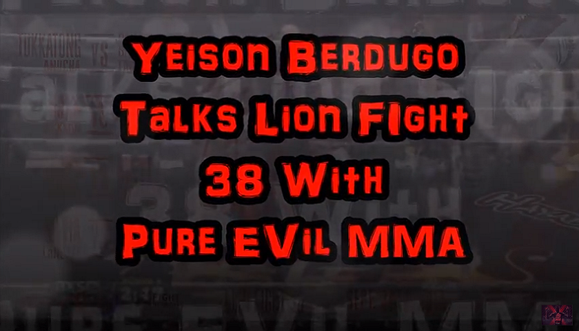 Yeison Berdugo talks upcoming fight at Lion Fight 38 alongside Coach Jamie Bradly