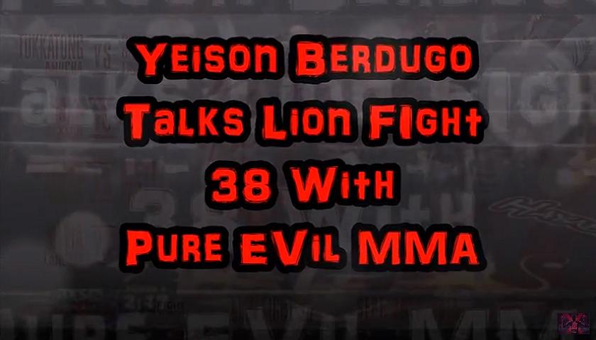 Yeison Berdugo talks upcoming fight at Lion Fight 38 alongside Coach Jamie Bradly