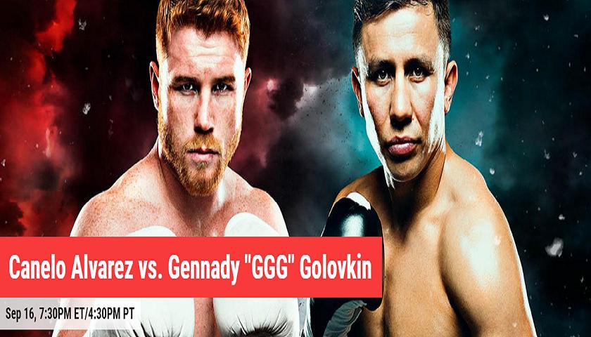Canelo Alvarez vs Gennady Golovkin results - Boxing Pay-Per-View