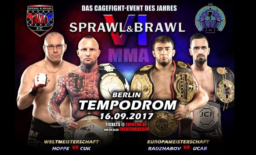 Sprawl & Brawl 6 PPV Live Stream - From Germany - 1 p.m. EST