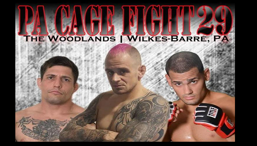 PA Cage Fight 29 Results - Sean Santella vs. Nathan Williams