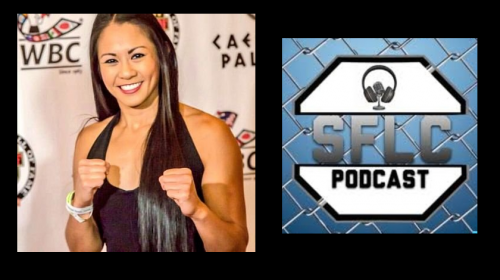 Ana Julaton talks Friday night's fight at Bellator 185 – SFLC Podcast