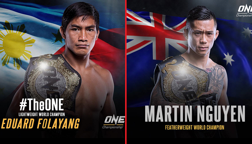 Eduard Folayang to defend ONE Championship lightweight title against featherweight champ Martin Nguyen