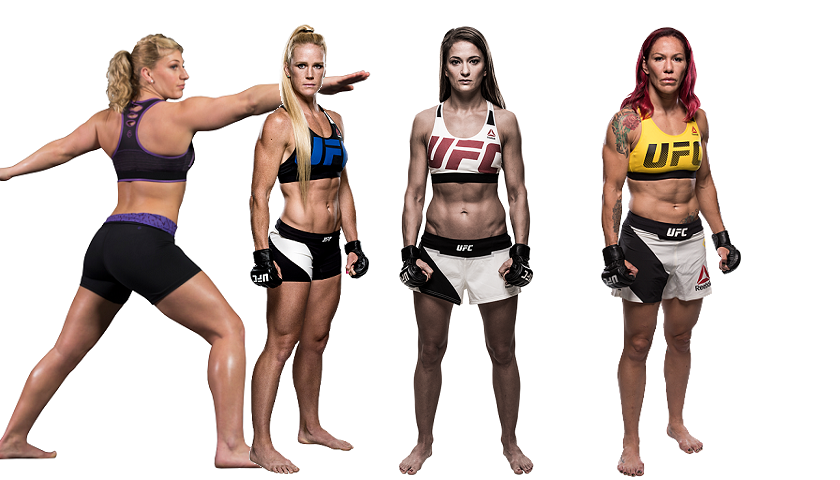 Cris Cyborg, Karolina Kowalkiewicz, Holly Holm, Kayla Harrison make SI Most Fit Female Athletes List