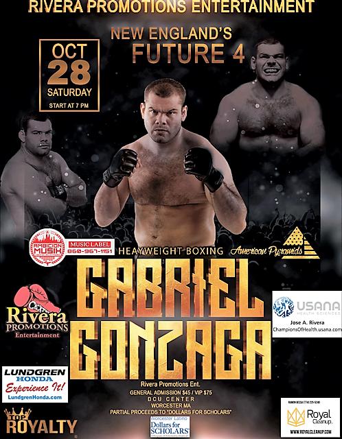Gabriel Gonzaga boxing debut