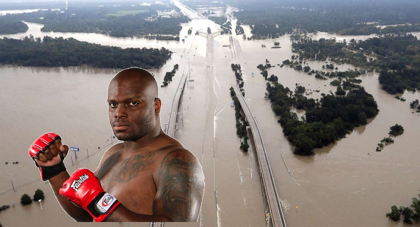 UFC partners with Derrick Lewis, donates $10,000 to city of Houston