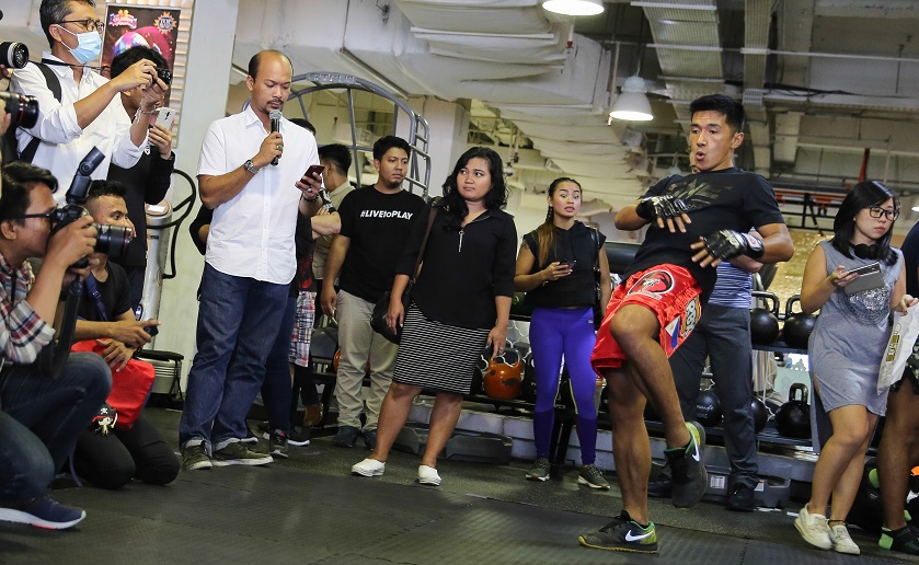 ONE Championship holds open workout for competitors of ONE: Total Victory