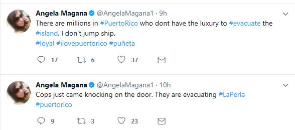 Angela Magana, Hurricane Irma, Puerto Rico