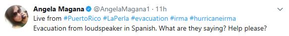 Hurricane Irma, Angela Magana