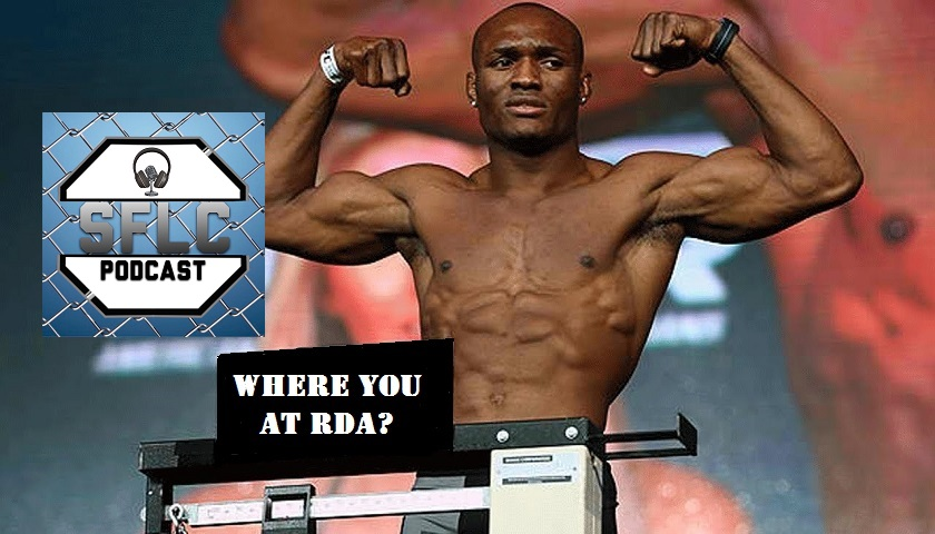 Kamaru Usman believes Rafael Dos Anjos ducking him, doesn't deserve welterweight title shot