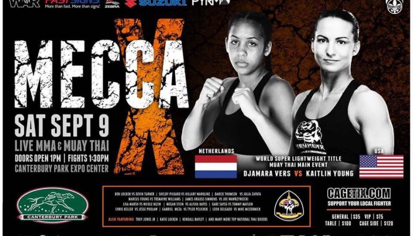 Mecca X Results – Live MMA & Muay Thai from Canterbury Park Expo Center