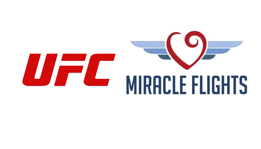 UFC announces charitable partnership with Miracle Flights