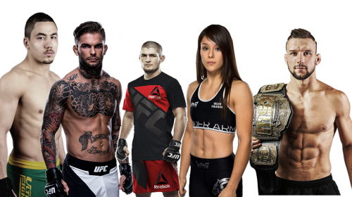 Top 5 of the Most Budding Fighters in MMA