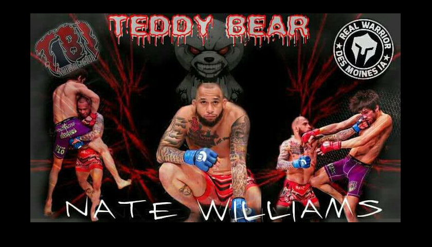 "Nate ""Teddy Bear"" Williams talks upcoming bout with Sean ""Shorty Rock"" Santella"