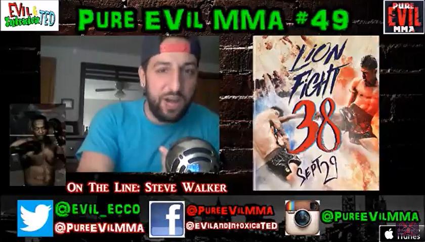 Steve Walker Looks To Impress At Lion Fight 38