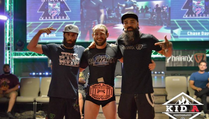 "Jon ""Thor"" Blank wins $2K and the welterweight belt at Ultimate Mat Warriors 2"